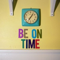 Top Five Ways To Become An On-Time Person