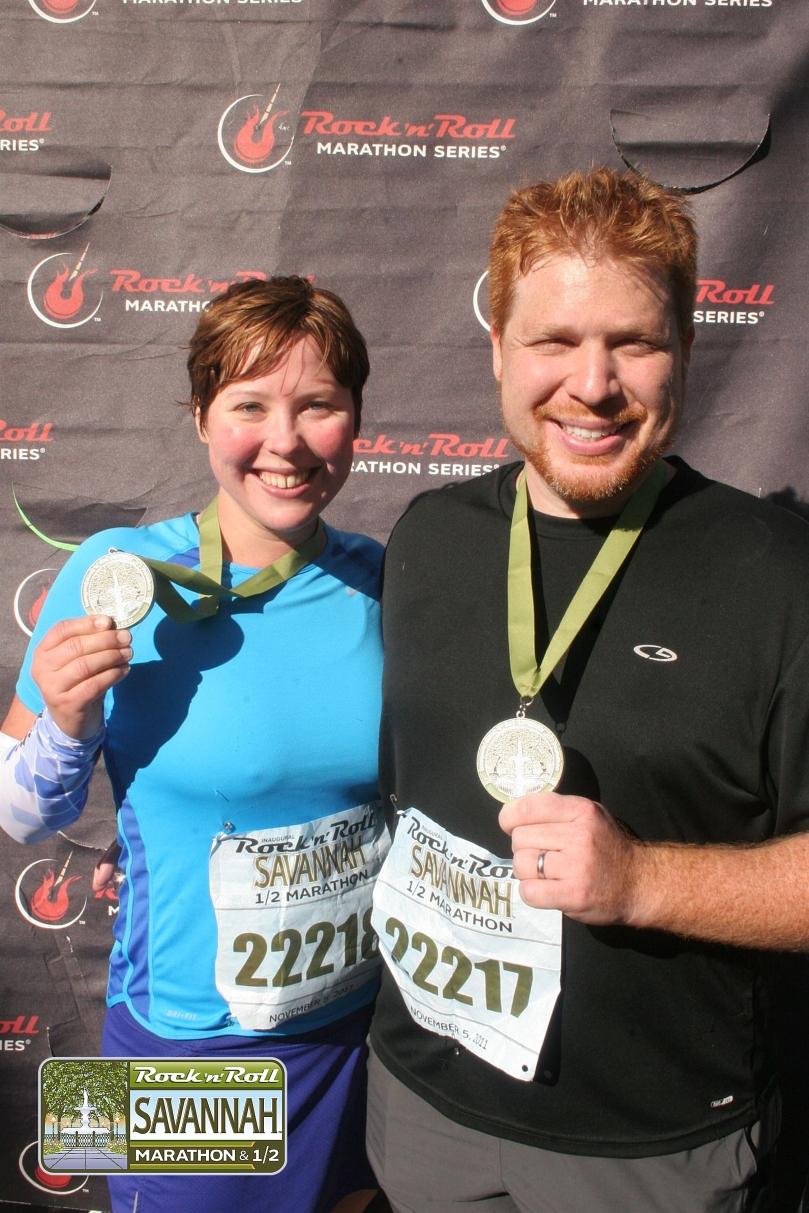 2011 Savannah Half Marathon