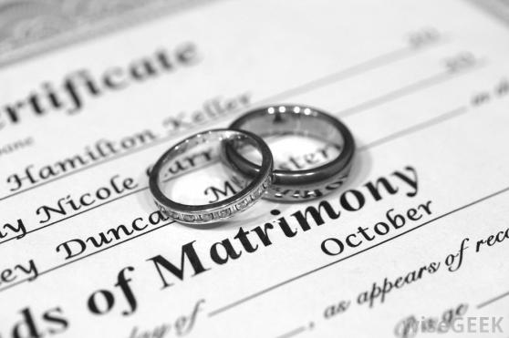 Certificate of Matrimony