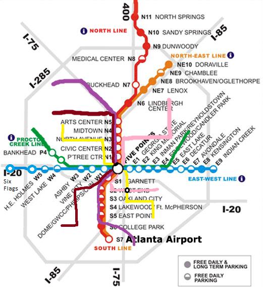 Future MARTA map