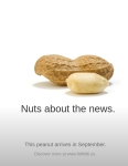 Nuts about the news.