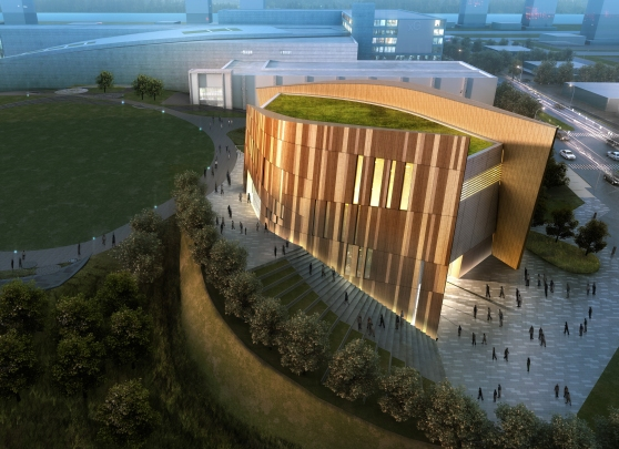 rendering of the Center for Civil and Human Rights
