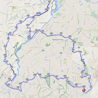 Bicycling North Atlanta: Exploring 45 Miles